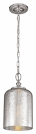 Murray Feiss P1320PN Hounslow Retro Polished Nickel Finish 6.5  Wide Mini Hanging Pendant Light
