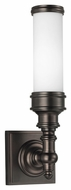 Feiss VS49001-DPZ Payne Ornate Dark Plated Bronze Finish 14.25  Tall Lighting Sconce