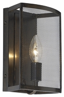 Feiss WB1706HTBZ Gemini Heritage Bronze Finish 6.5  Wide Wall Sconce Lighting