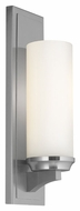 Murray Feiss WB1723BS Amalia Brushed Steel Finish 4.5  Wide Wall Light Fixture