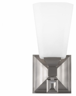 Murray Feiss WB1724BS Sophie Brushed Steel Finish 4.625  Wide Wall Lighting Sconce