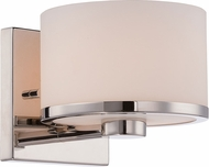 Nuvo 60-5471 Celine Polished Nickel Halogen Wall Lamp