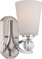 Nuvo 60-5491 Connie Polished Nickel Sconce Lighting