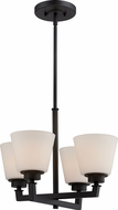 Nuvo 60-5558 Mobili Aged Bronze Mini Lighting Chandelier