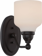 Nuvo 62-396 Kirk Mahogany Bronze LED Wall Light Sconce