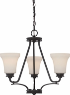 Nuvo 62-439 Cody Mahogany Bronze LED Mini Ceiling Chandelier