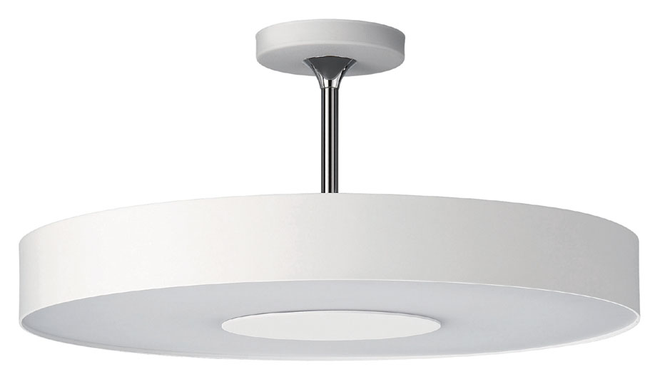 Philips 302063148 discus modern white finish tall - Modern ceiling light fixtures ...