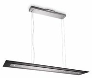 Philips 407431148 Matrix Modern Brushed Nickel Finish 0.8  Tall LED Kitchen Island Lighting