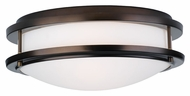 Philips F245670U Cambridge Modern Merlot Bronze Finish 13.75  Wide Ceiling Light Fixture