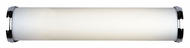 Philips F325336U Triple Bands Contemporary Satin Nickel Finish 4.625  Tall Bathroom Lighting Fixture