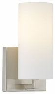Philips F450536 Cambria Modern Satin Nickel Finish 4.5  Wide Wall Lighting Fixture