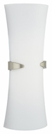Philips F552836U Cinch Contemporary Satin Nickel Finish 20  Tall Wall Sconce Lighting
