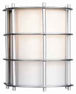Philips F849041NV Hollywood Hills Modern Vista Silver Finish 5.5  Wide Exterior Wall Sconce