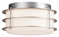 Philips F849241NV Hollywood Hills Contemporary Vista Silver Finish 5  Tall Ceiling Light