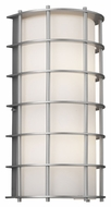 Philips F849341U Hollywood Hills Modern Vista Silver Finish 8  Wide Exterior Wall Lighting
