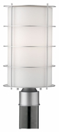Philips F849441NV Hollywood Hills Contemporary Vista Silver Finish 16  Tall Outdoor Post Lamp