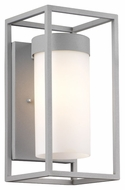 Philips F855610 Cube Modern Graphite Finish 6  Wide Exterior Wall Lighting Sconce