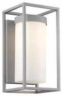 Philips F855710 Cube Contemporary Graphite Finish 16  Tall Outdoor Wall Sconce Lighting