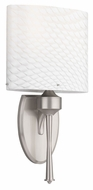 Philips FM0010217 Tatem Brushed Nickel Finish 8.75  Wide Lamp Sconce