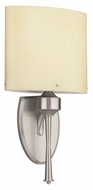 Philips FM0011217 Tatem Brushed Nickel Finish 16.5  Tall Wall Sconce Lighting