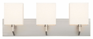 Philips FV0015836 Fisher Island Contemporary Satin Nickel Finish 8.75  Tall Bath Lighting Sconce