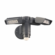 PLC 1769BZ Zonyx Contemporary Bronze LED Exterior Residential Security Lighting