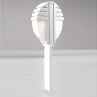 PLC 1833-WH Synchro Modern White Outdoor Pathway Lighting