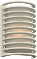 PLC 2038WHLED Sunset Contemporary White LED Outdoor Wall Lighting