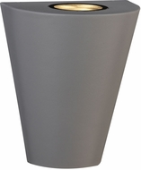 PLC 2133SL Filipe Contemporary Satin Nickel LED Outdoor Light Sconce