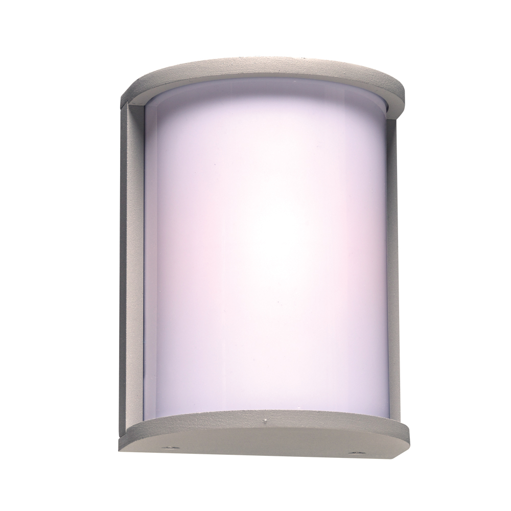 Plc 2706sl Omni Contemporary Silver Outdoor Lamp Sconce