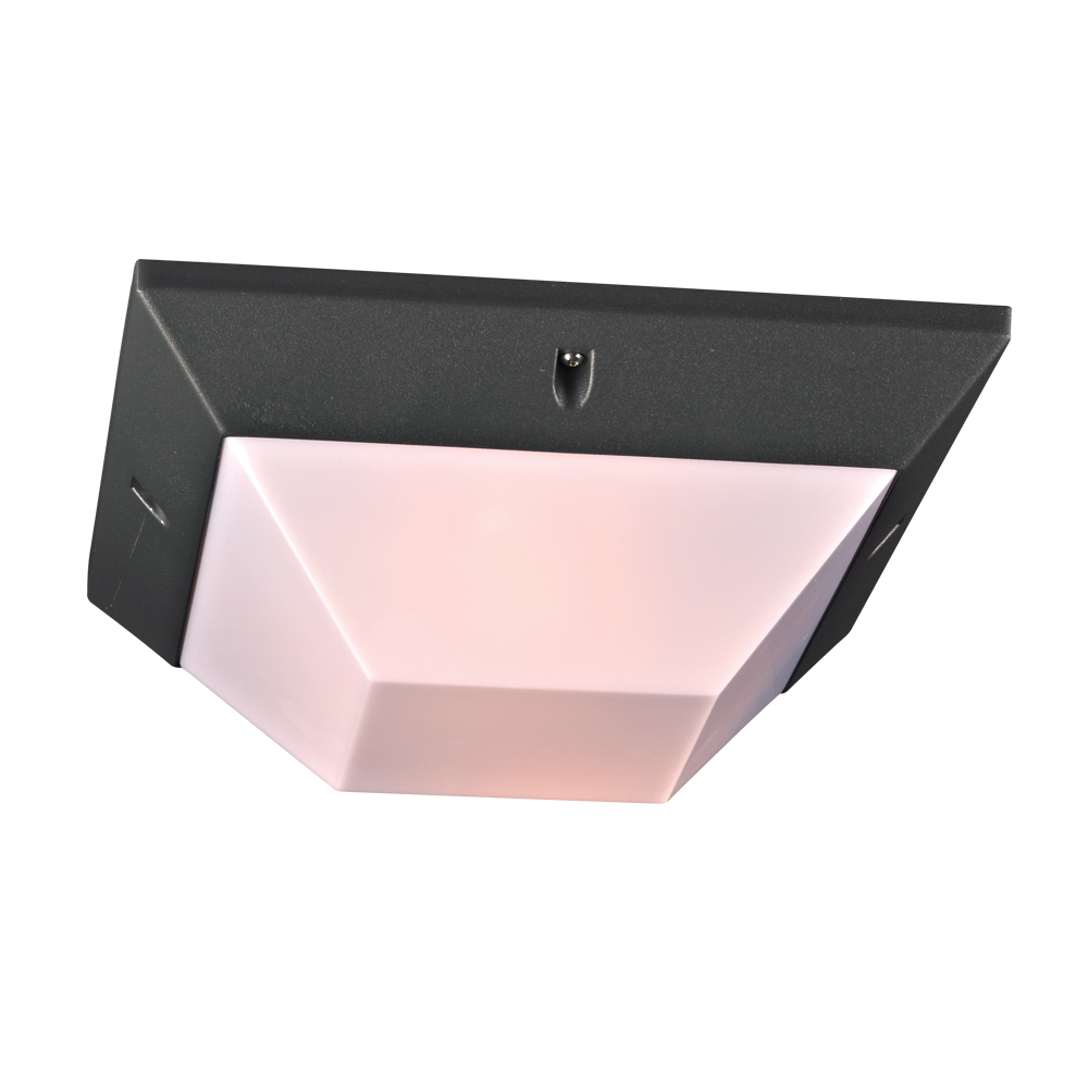 PLC 2717BZ Harrison Modern Bronze Exterior Ceiling Light