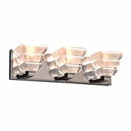 PLC 32053PC Titan Modern Polished Chrome 3-Light Bathroom Light Fixture
