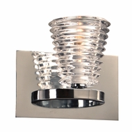 PLC 32061PC Enzis Contemporary Polished Chrome Wall Lamp