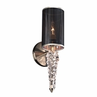 PLC 36664SN Sura Contemporary Satin Nickel Sconce Lighting
