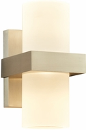 PLC 4056BA Breeze Modern Bronze Aluminium LED Outdoor Wall Sconce Lighting
