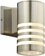 PLC 4065BA Decker Contemporary Bronze Aluminium LED Exterior Wall Light Fixture