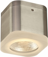 PLC 4086BA Cubie Contemporary Bronze Aluminium LED Exterior Flush Mount Light Fixture