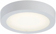 PLC 7420WH Float Contemporary White LED Overhead Light Fixture