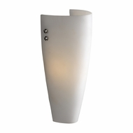 PLC 7527-OPAL Julian I Modern Polished Chrome Lamp Sconce