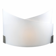 PLC 7544-SN Gail Contemporary Satin Nickel Lighting Wall Sconce