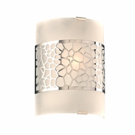 PLC 7583PC Siena Contemporary Polished Chrome Light Sconce