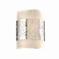 PLC 7585PC Clifton Modern Polished Chrome Lighting Sconce
