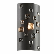 PLC 81390BK Twilight Black Wall Sconce