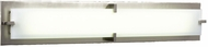 PLC 816SNLED Polipo/T5 Contemporary Satin Nickel LED 39 Vanity Lighting Fixture
