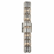 PLC 90004PC Marquee Polished Chrome Bathroom Vanity Light Fixture
