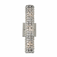 PLC 90011PC Piattini Polished Chrome 16  Bathroom Wall Sconce