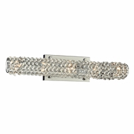 PLC 90013PC Piattini Polished Chrome 24  Bath Wall Sconce