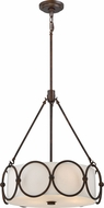 Quoizel ADA2820LN Adams Leathered Bronze Pendant Lighting
