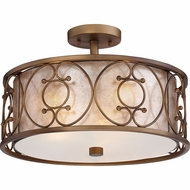 Quoizel ADE1716ER Avondale Empire Brass Fluorescent Ceiling Lighting