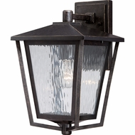 Quoizel ALF8410IB Alfresco Traditional Imperial Bronze Finish 10  Wide Outdoor Sconce Lighting